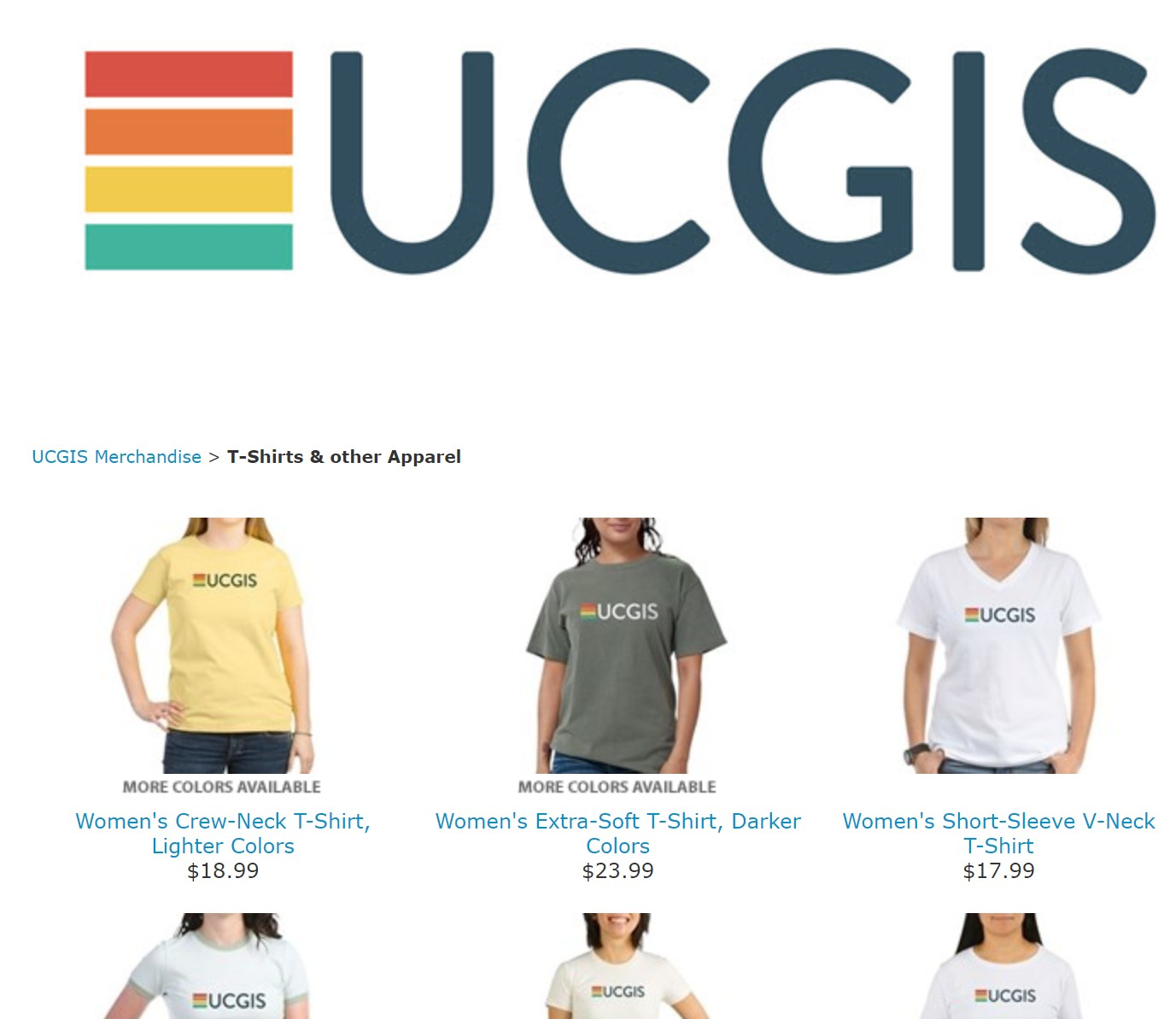UCGIS Cafe Press Store