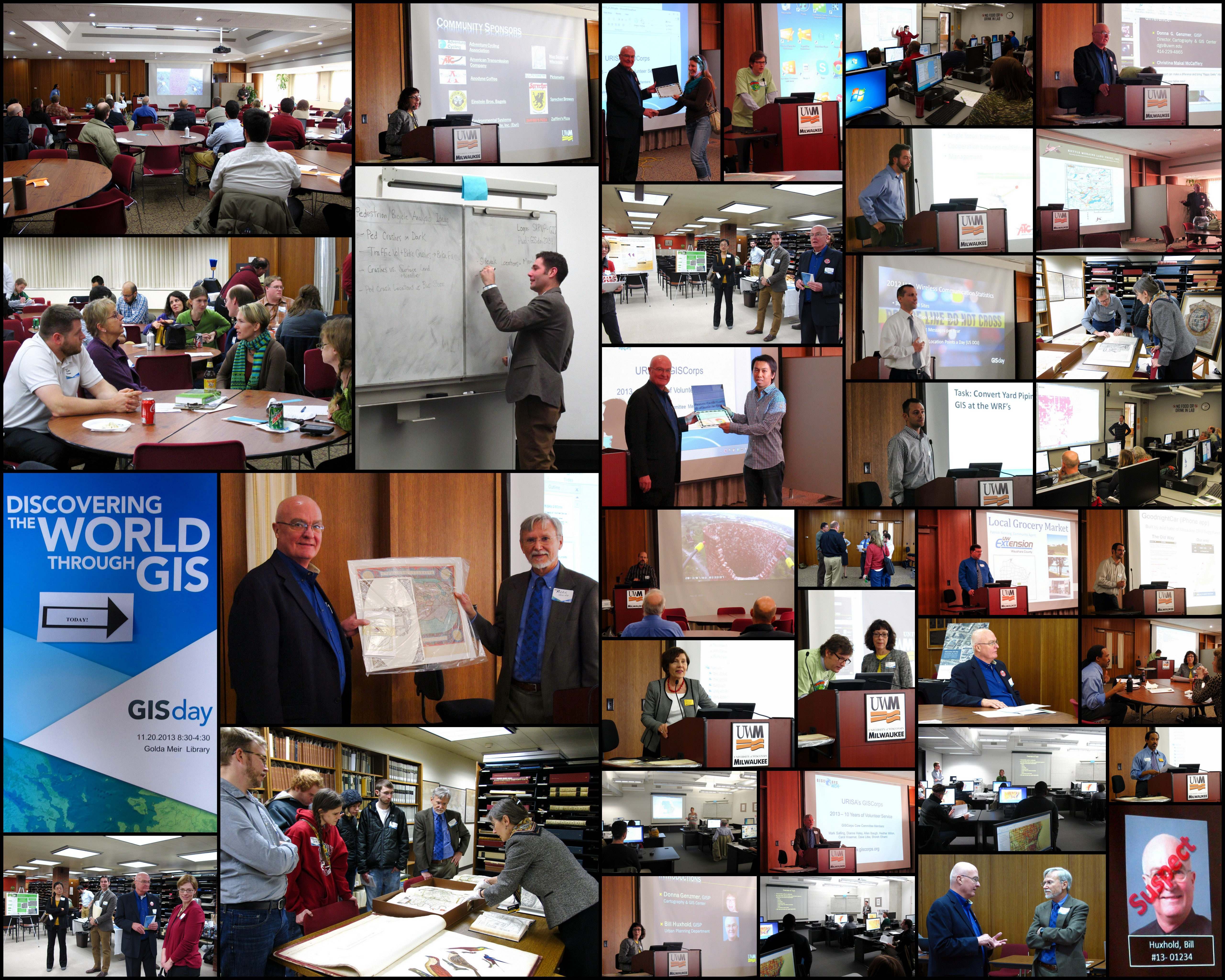 Univ of Wisconson - Milwaukee GIS Day 2013