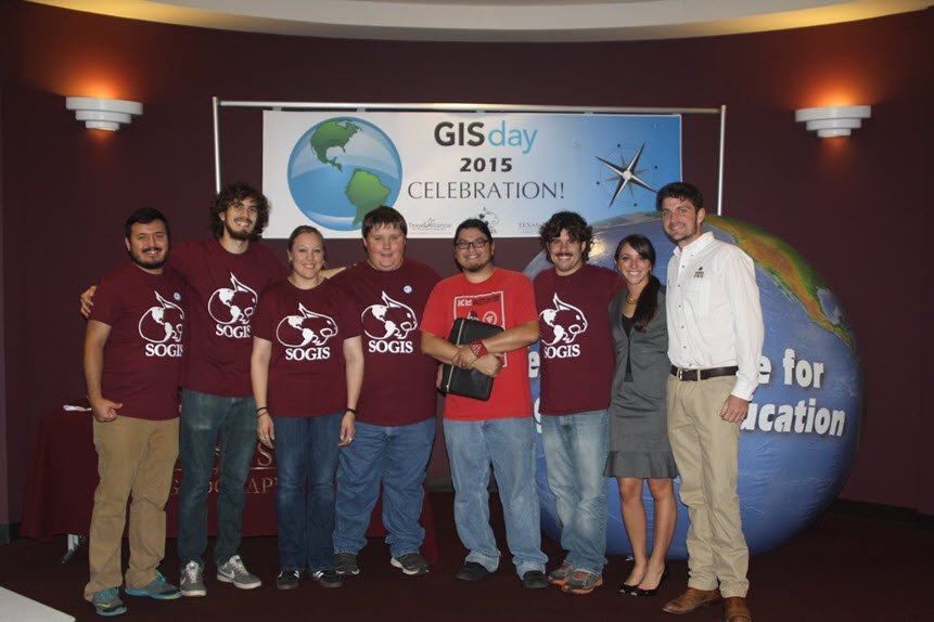 Texas State University GIS Day 2015
