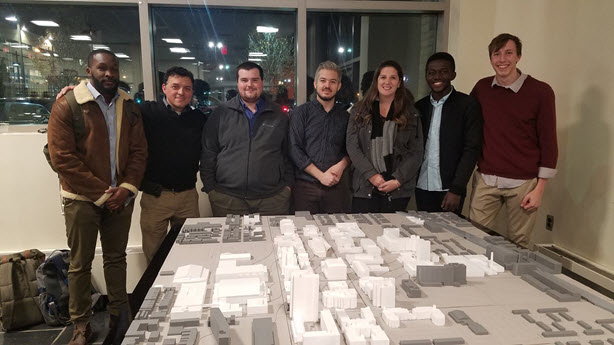 Temple University 3D Campus Model GIS Day 2017