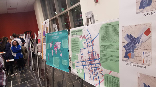 Temple University Poster Session GIS Day 2017