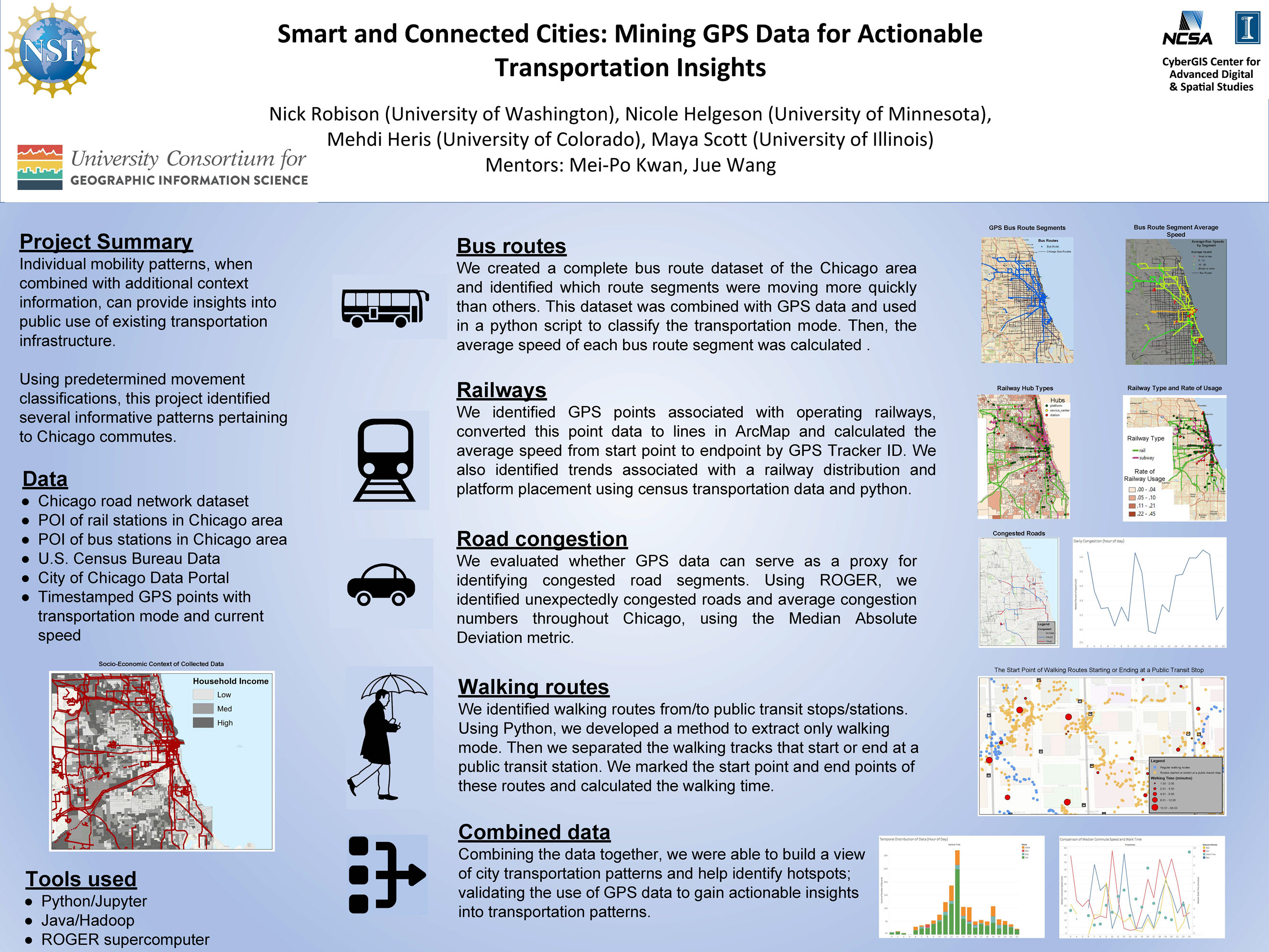 Smart and Connected Cities: Mining GPS Data for Actionable Transportation Insights